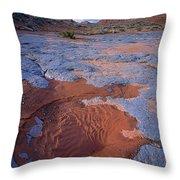 Blue Wash Throw Pillow