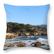 Blue Water Bliss  Throw Pillow