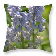 Bluebell Throw Pillow
