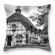 Bluebell Cottage Micheldever Throw Pillow