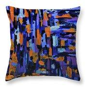 Blueberry Cobbler Throw Pillow