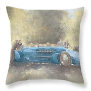 Bluebird And Ghost Throw Pillow