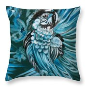 Bluebird Of Happiness Jenny Lee Discount Throw Pillow