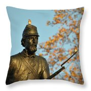 Bluebirds And Minnesota Throw Pillow