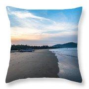 Blued Beauty Throw Pillow