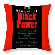 Blueprint for black power digital art by adenike amenra blueprint for black power throw pillow malvernweather Gallery