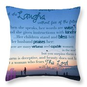 Blueprint For Life... Who Can Find A Throw Pillow