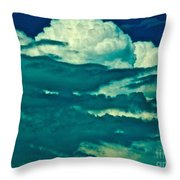 Blues Away Throw Pillow