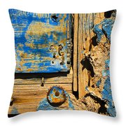 Blues Dues Throw Pillow