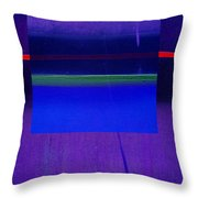 Bluescape Throw Pillow