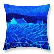 Bluescape Throw Pillow