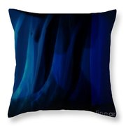Bluetude 5 Throw Pillow