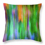 Blurred #1 Throw Pillow