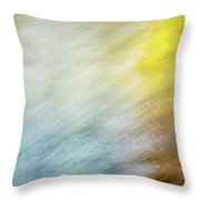 Blurred #9 Throw Pillow