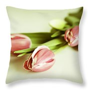 Blurred Memories Throw Pillow