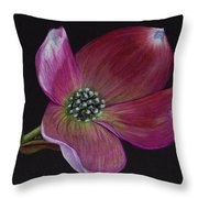 Glamor Throw Pillow by Ekta Gupta