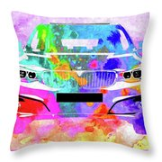 Bmw 3 Gran Turismo Throw Pillow