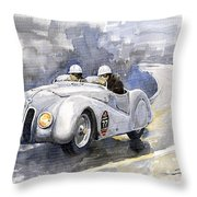 Bmw 328 Roadster Throw Pillow