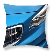 Bmw M2 Grille Throw Pillow