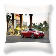 Bmw M235i Coupe Throw Pillow