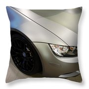 Bmw M3 Throw Pillow by Aaron Berg