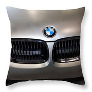 Bmw M3 Hood Throw Pillow by Aaron Berg