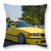 Bmw M3  Throw Pillow