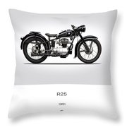 Bmw R25 Throw Pillow