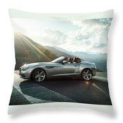 Bmw Zagato Roadster Throw Pillow