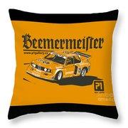 Bmw320 Gr5 Racing Throw Pillow