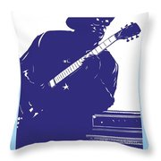 Bo Diddly Throw Pillow