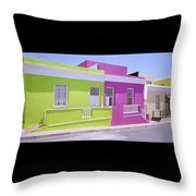 Bo Kaap Throw Pillow