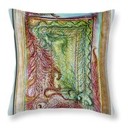 Boa Box Throw Pillow