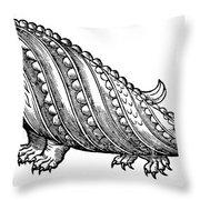 Boar Whale Throw Pillow