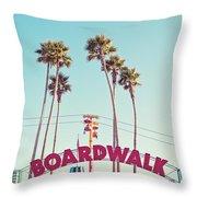 Boardwalk Throw Pillow