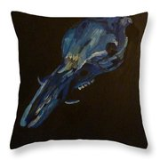 Boar's Skull No. 2 Throw Pillow