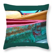 Boat 0005 Throw Pillow