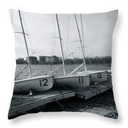 Boat Club #1 Throw Pillow