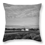 Boat Houses Throw Pillow