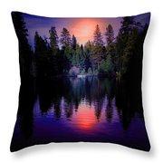 Boat Landing Throw Pillow