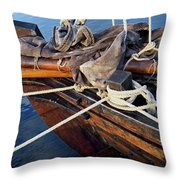 Boat Prow Throw Pillow