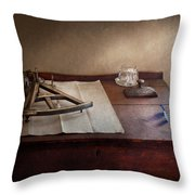Boat - The Joy Of Sextant Throw Pillow