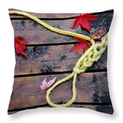 Boaters Chain Throw Pillow