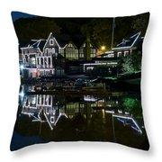 Boathouse Row Eight By Ten Throw Pillow