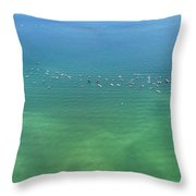 Boating Life Throw Pillow