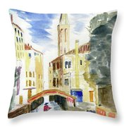 Boatman Throw Pillow