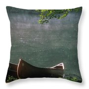 Boats - Natchez Throw Pillow