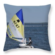 Boats 171 Throw Pillow