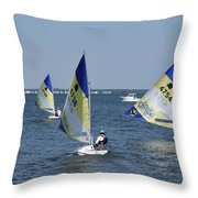 Boats 172 Throw Pillow