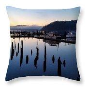 Boats Sleep Throw Pillow